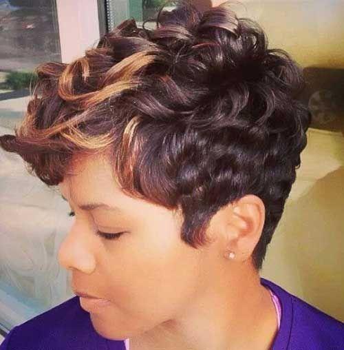 Twenty Cute Quick Black Hairstyles Hairstyles Hair Styles Short Sassy Hair Short Hair Styles