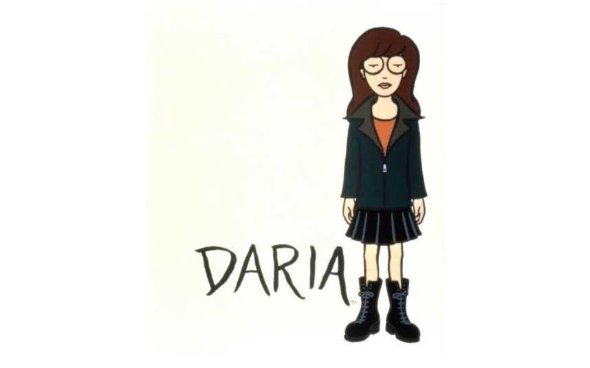 Cartoon Characters Female : Strong female characters in cartoon series daria