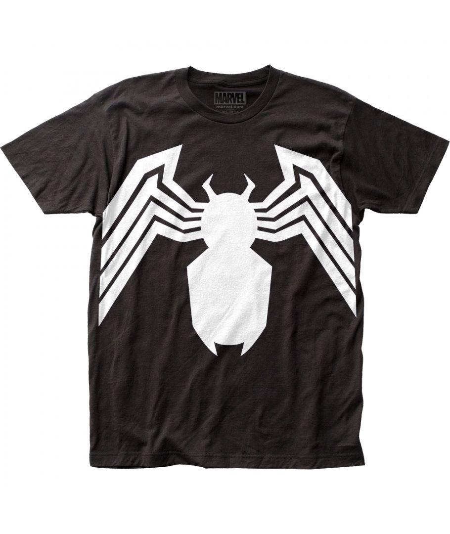Officially Licensed Marvel Venom Symbol Spider Man Jersey Tank Top S Xxl Ropa Playeras