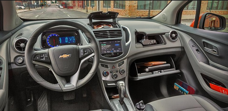 2018 Chevrolet Trax Interior Style   Vehicles Notify   Chevrolet trax, Small suv, dan Chevrolet