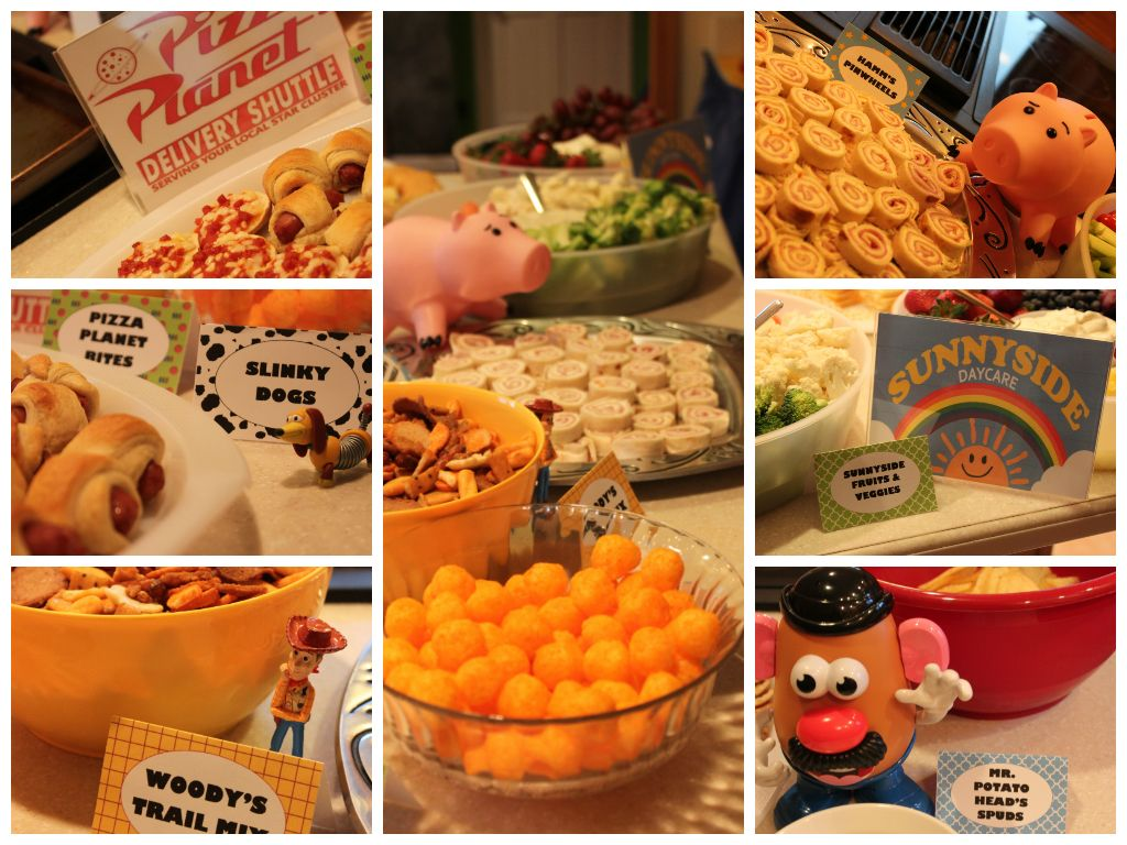 toy story birthday party  the food