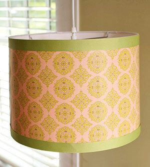 DIY ideas to pretty up lampshades ~ Little Green Notebook: Lampshades