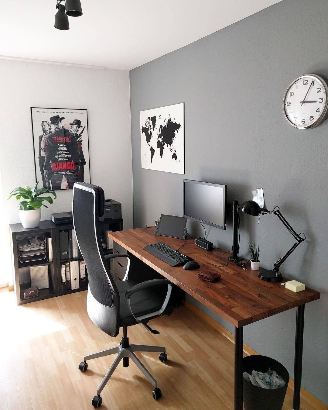 10 Outstanding Computer Desk Ideas Space Saving Gorgeous Picture Office Desk Designs Home Office Setup Home Office Design