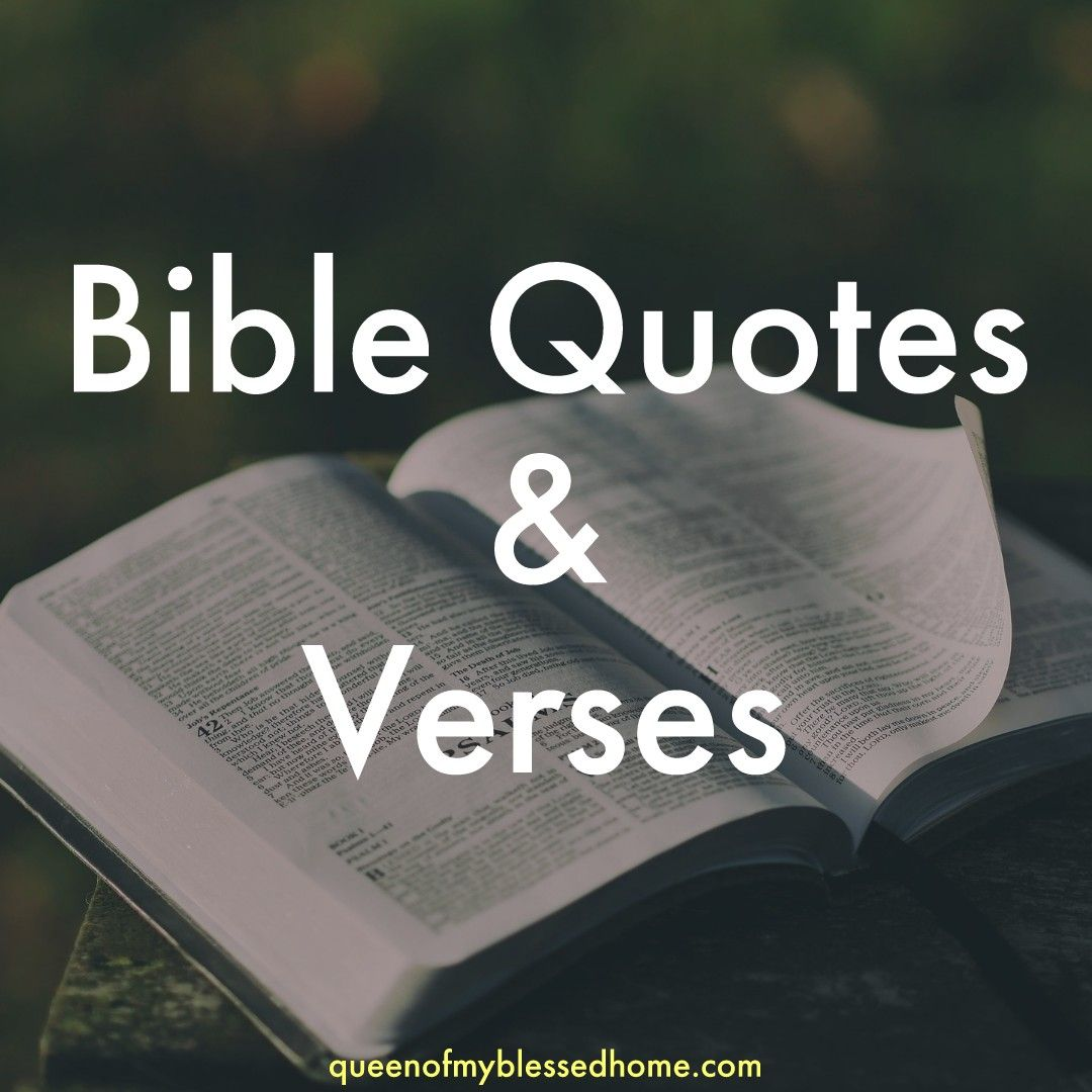 Pin on Bible Quotes & Verses