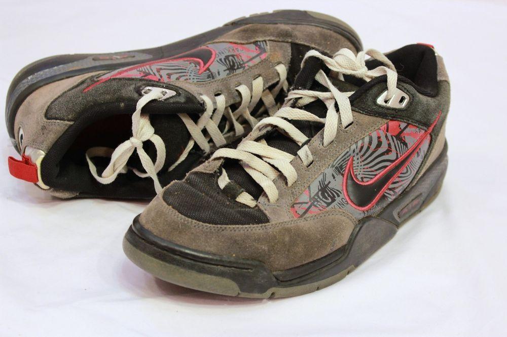 wholesale dealer c0e43 4f44a Nike Smithwick Sneakers Size 10 Neutral Grey Black Red Graffiti Skate Shoes  Nike AthleticSneakers