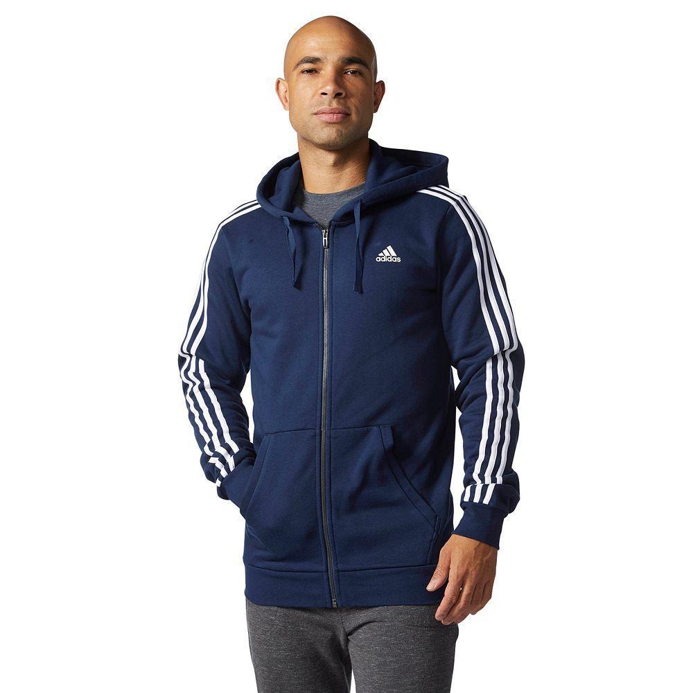 Big Tall Adidas Essential Fleece Full Zip Hoodie Mens Fleece Hoodie Full Zip Hoodie Big And Tall Jackets [ 1000 x 1000 Pixel ]