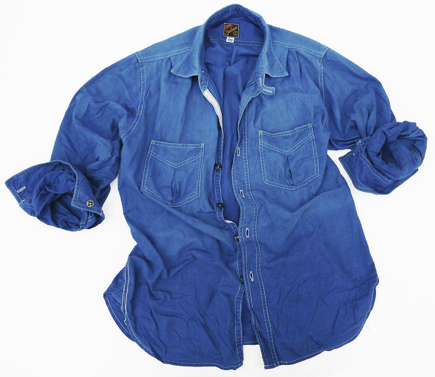 8b736899d MISTER FREEDOM Sportsman Shirt Indigo | Things I Like | Abbigliamento