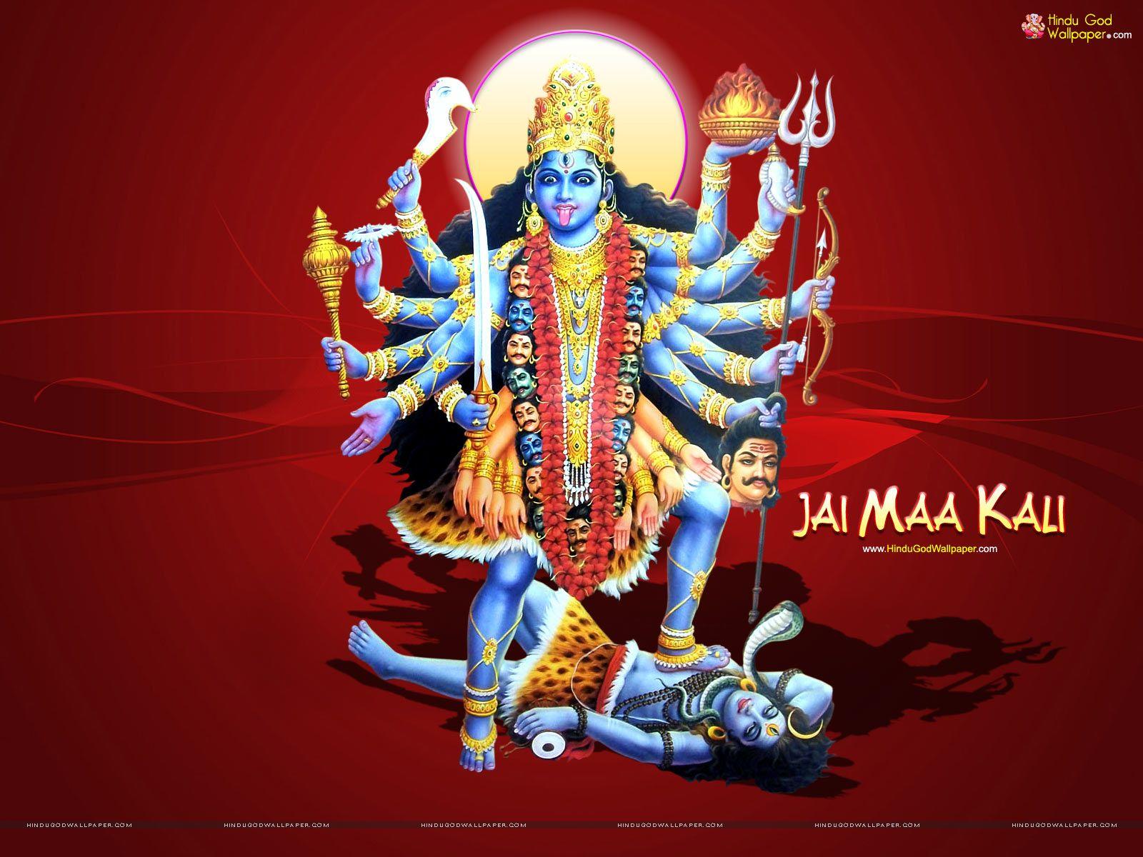 Jai Kali Kalkatte Wali Wallpaper Free Download Godness Shiva