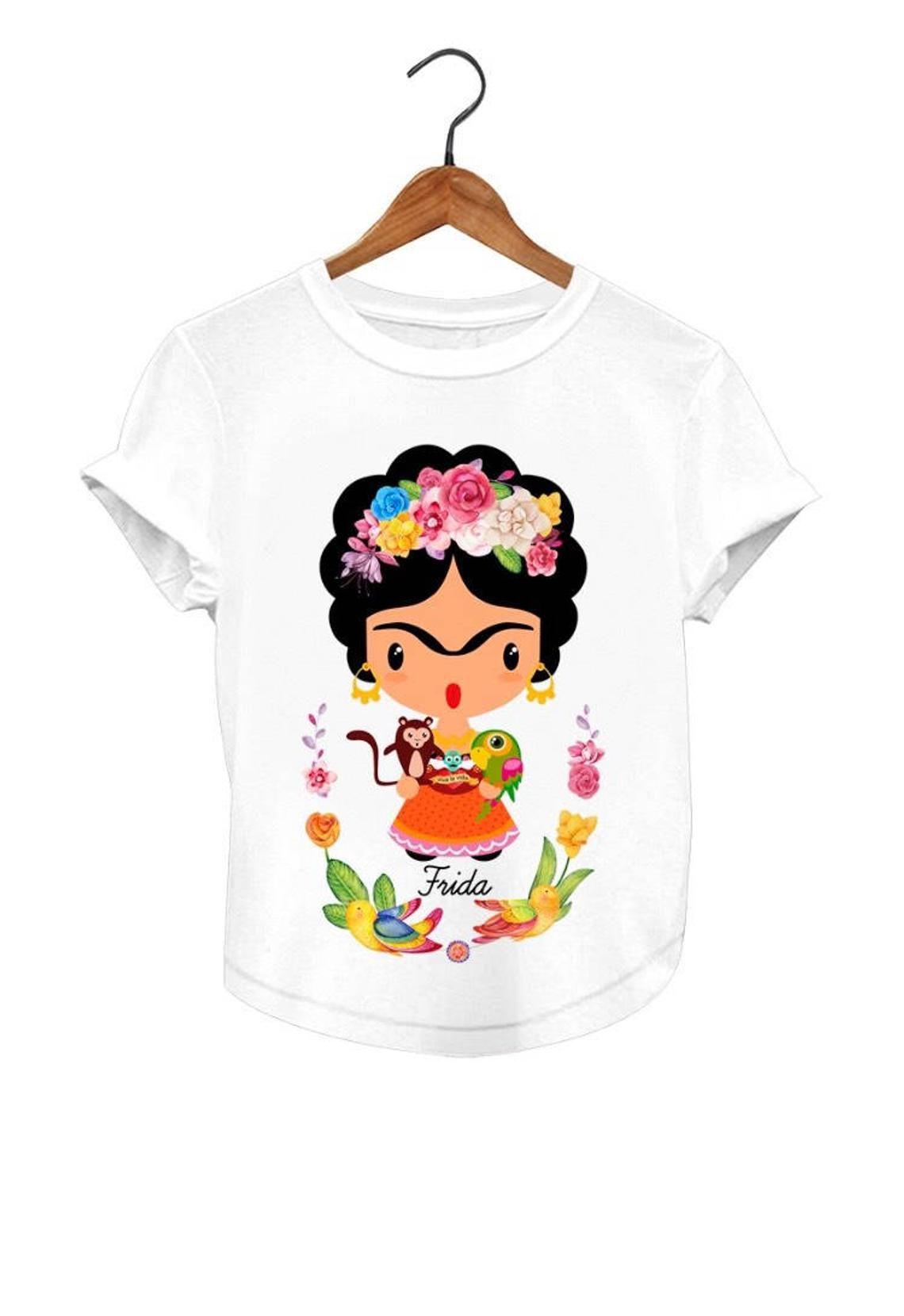 6a84da69b9581 Playera con diseños Cartoon blusa Mexicana Matching Mamá