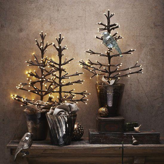 Lighted Tabletop Tree Christmas Pinterest Tabletop, Mistletoe