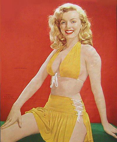 Marilyn Monroe Körper