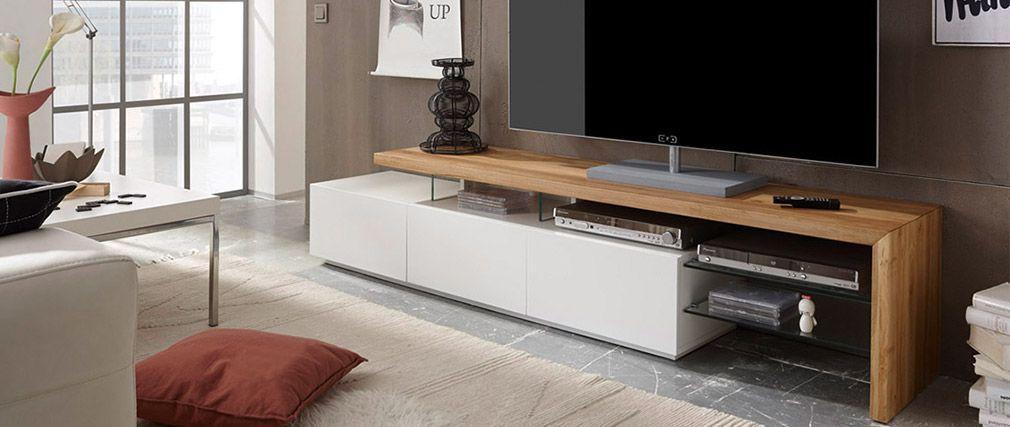 Meuble Tv Design Laque Blanc Media Plateau Chene Pas Cher Meuble Tv Miliboo Iziva Com Meuble Tv Design Meuble Tv Design Laque Meuble Tv