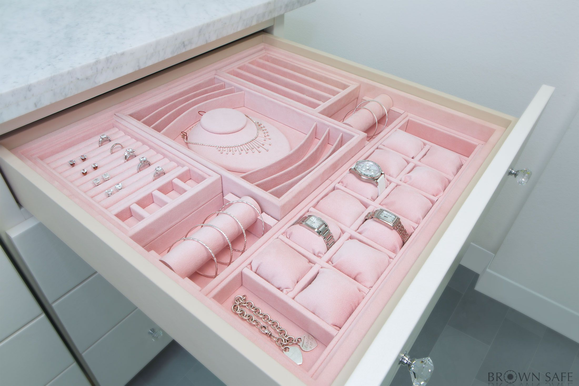 Jewelry inserts for drawers keep your jewelry pristine organized
