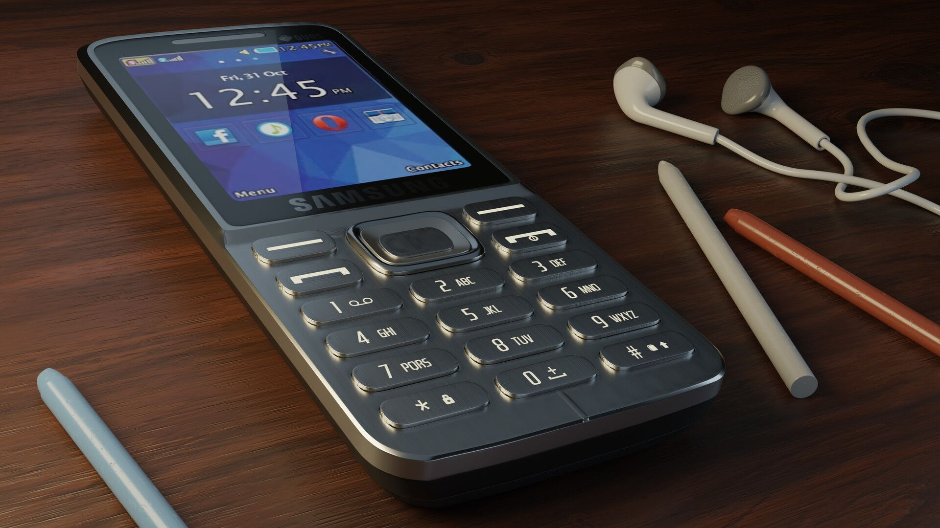 Samsung Metro 360 By Nehal Ahmadmy Old Phone Modeled Using Blender 2 8 Beta And Rendered In Cycles And Eevee Old Work Before Old Phone Blackberry Phone Phone