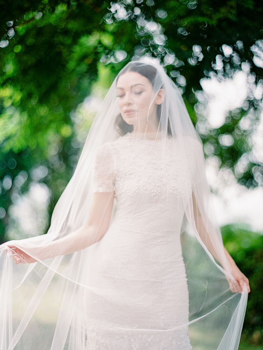 Traditional filipino wedding dress  Perfect Pairings A Styled Shoot With Vera Wang Gowns  Bridal