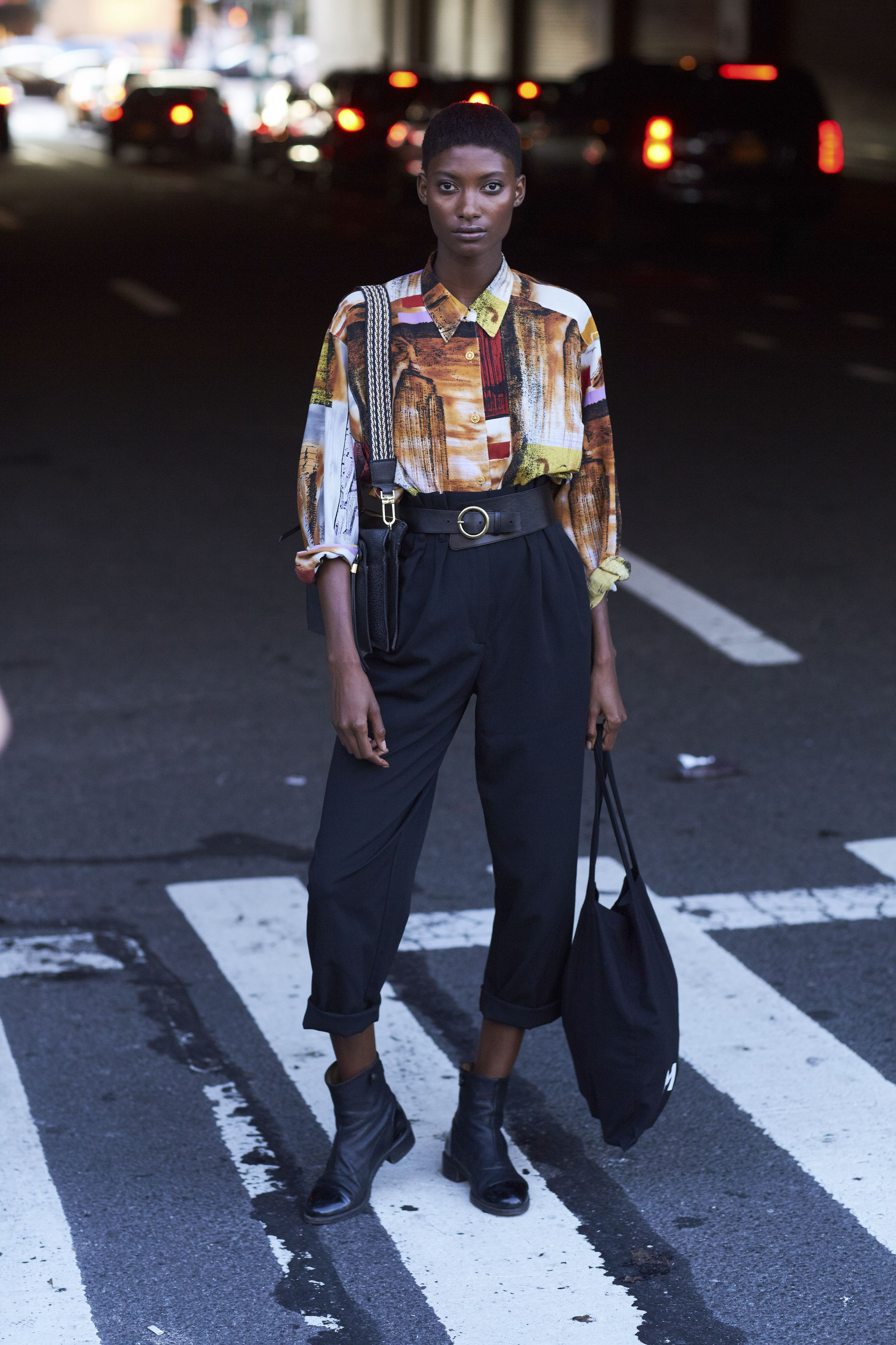 c2a8f2a57d5a The Best Street Style At New York Fashion Week Spring Summer 2018