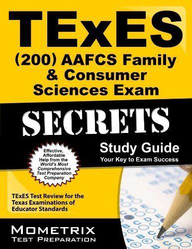 texes (200) aafcs family & consumer sciences exam secrets study