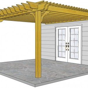 10x10 Pergola Kits Shop Our Big Kahuna 10x10 Wood Pergola Kit Online At Pergola Depot Wood Pergola Kits Pergola Pergola Kits