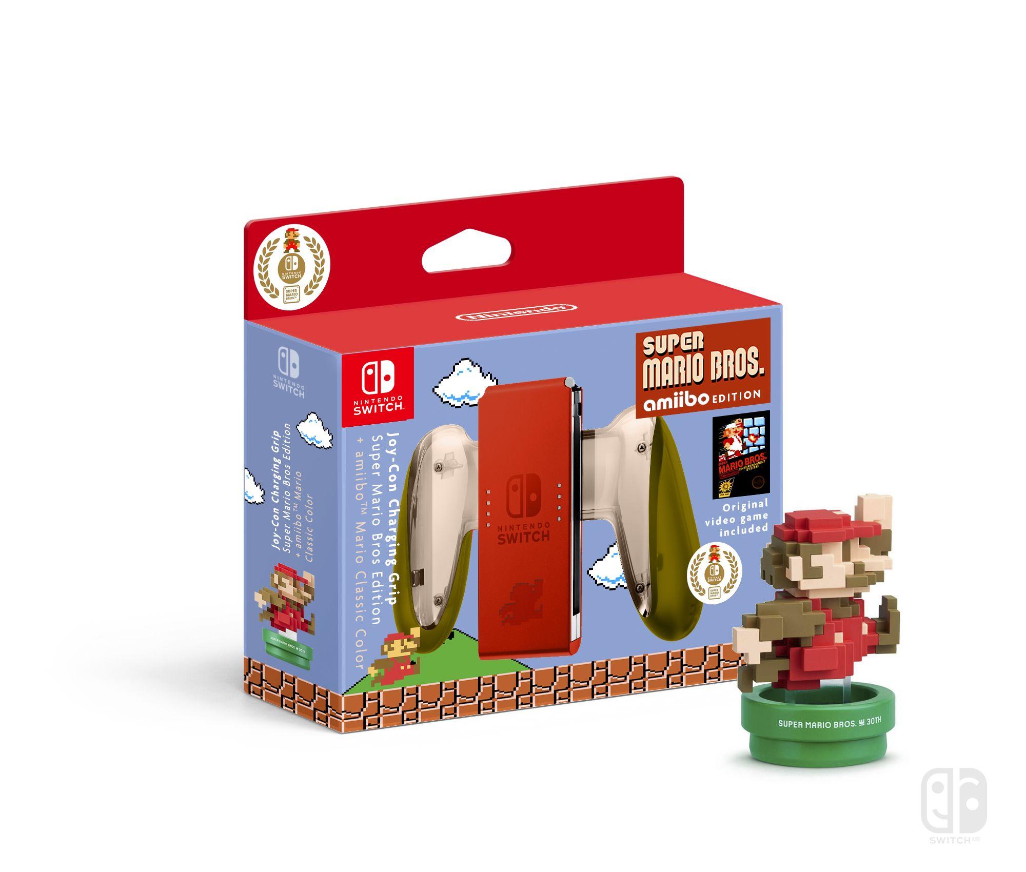 Joy Con Charging Grip Mario Classic Edition Nintendo Joy Con Collector Nintendo Switch A S Nintendo Switch Accessories Nintendo Switch Nintendo Switch Games