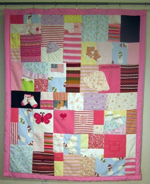 Memory Blankets. Use your kids fav clothing items and make into ... : quilting items - Adamdwight.com