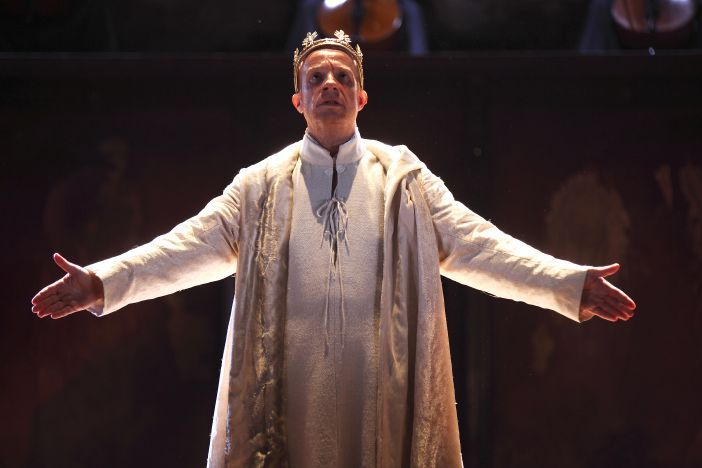 """If chance will have me king, why, chance may crown me."" A mighty image from an RSC performance of Macbeth."