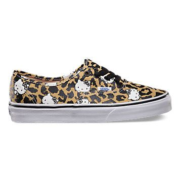 baa56f3686 Inspired by Hello Kittys Anniversary and graphics from the the Vans x Hello  Kitty Authentic is a simple low top