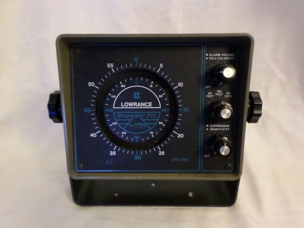 B1012 LOWRANCE Bluewater Pro LFG460 Fish Finder No cords