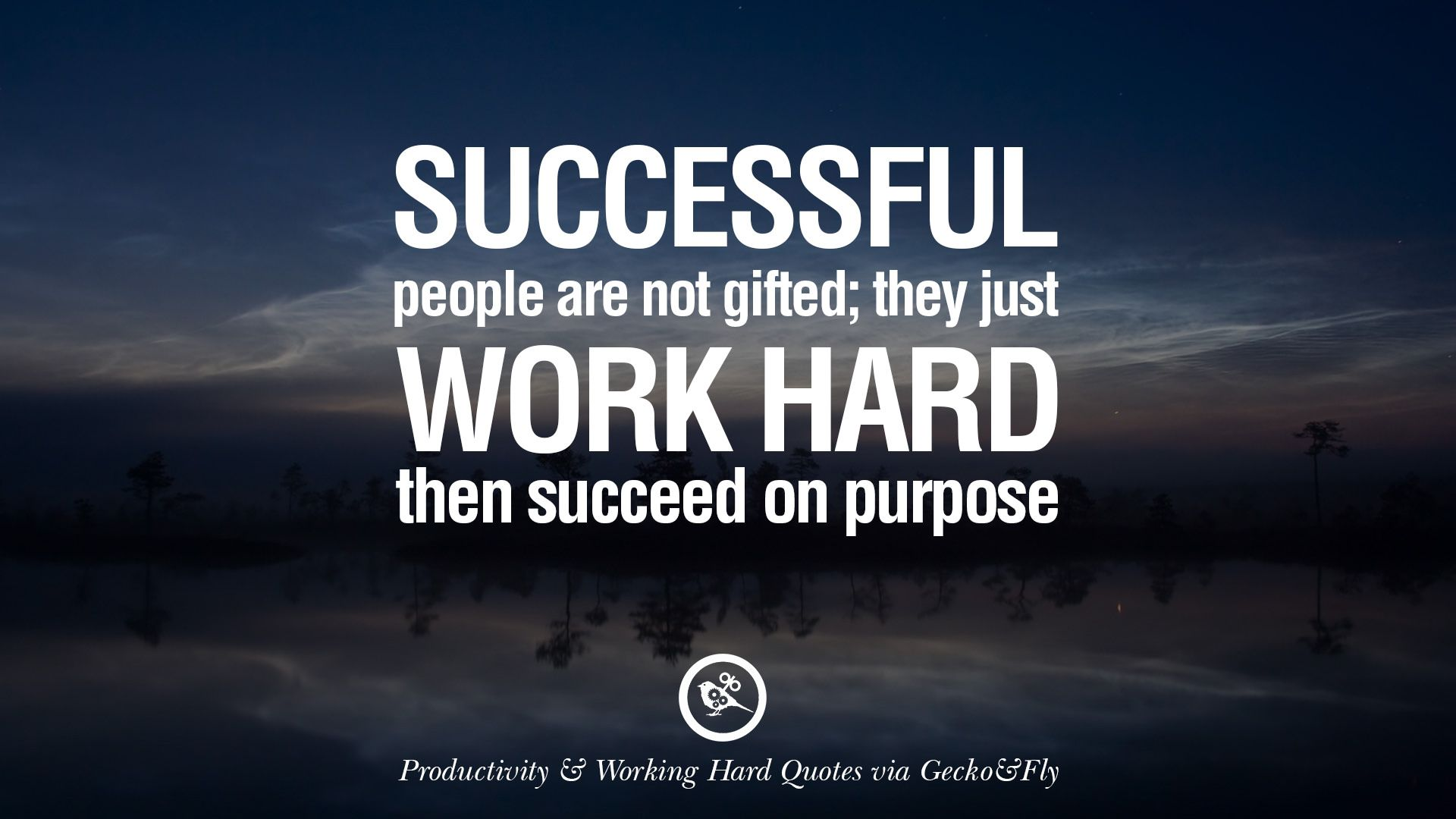 Work Hard Quotes Successful People Are Not Gifted They Just Work Hard Then Succeed