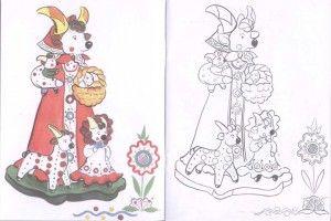 Дымковская игрушка: картинки, раскраска и фото для детей ...