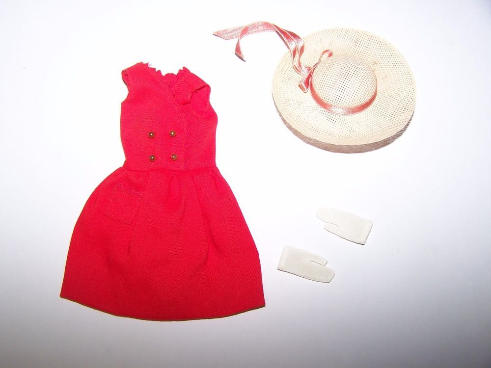 barbie straw hat Vintage