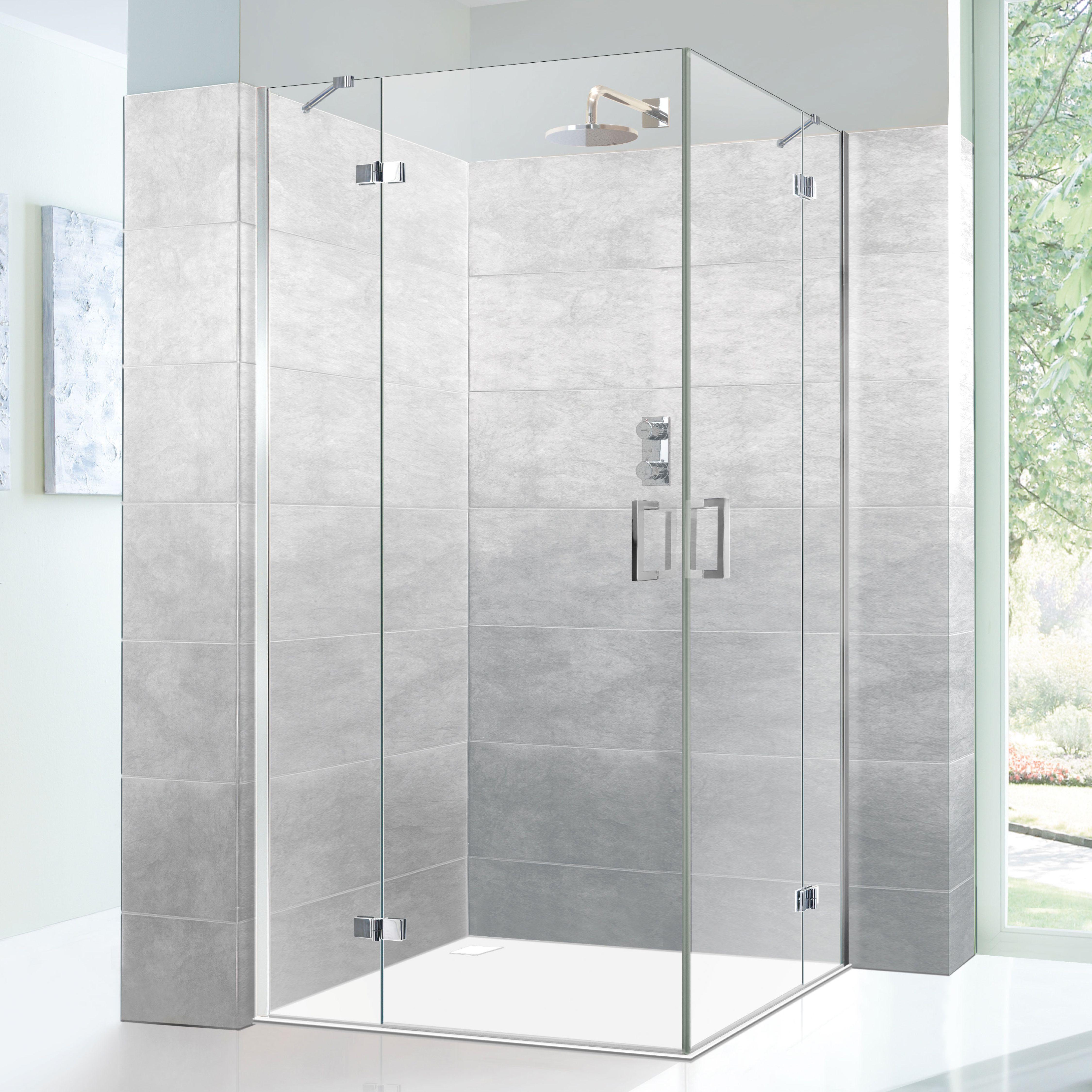 Edition Line Dusche Geradliniges Design Und Langlebige Qualitat Sie Eignet Sich Besonders Als Bodenebene Dusche Beim O In 2020 Duschwand Duschwand Glas Glasduschen