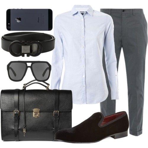 Business Semi Formal fashion style Tommy Hilfiger Dolce&Gabbana Salvatore Ferragamo