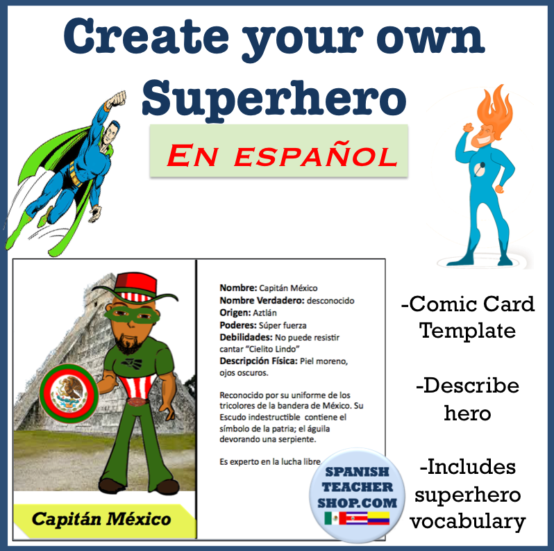 Projects and Games for Spanish Class: Students create their own ...