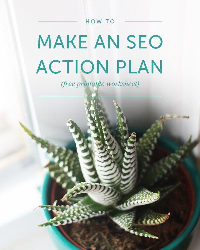 Make An Seo Action Plan Free Printable  Free Printable