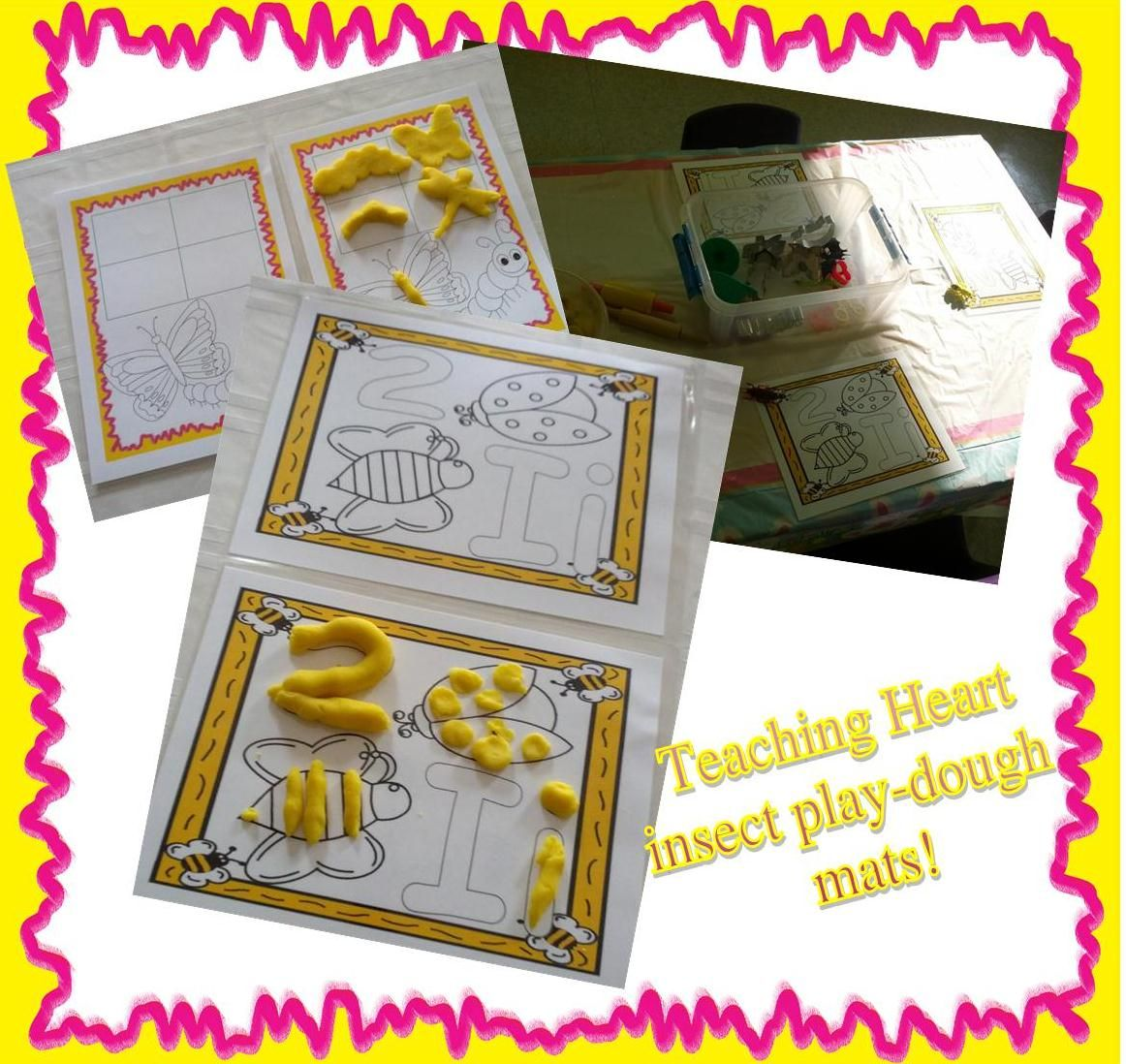Bug Playdough Mat Printable The Click To Download The