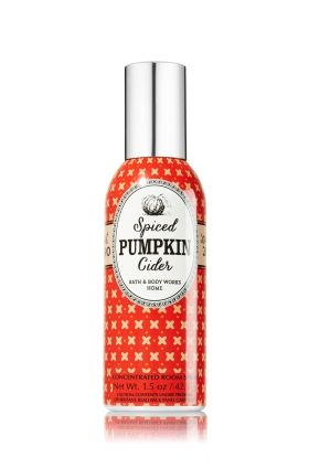 Spiced Pumpkin Cider 1 5 Oz Room Perfume Home Fragrance Bath Body Works Bath And Body Works Bath And Body Pumpkin Spice