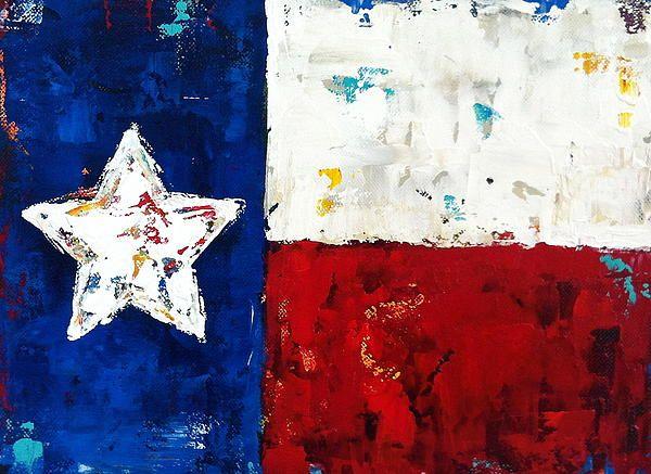 Pin By Rosa Avendano On Diy For The Home Texas Art Canvas Flag Art Texas Art