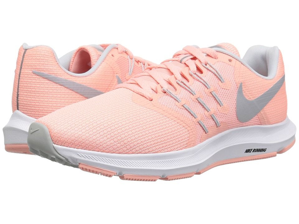 382bd44a786 Nike Run Swift (Bleached Coral Wolf Grey Pure Platinum) Women s Running  Shoes