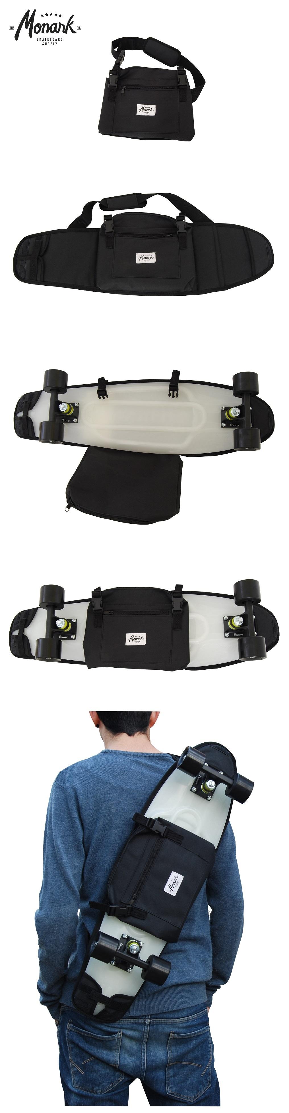Cruiser Backpack Skateboard Skate Bag Penny Board