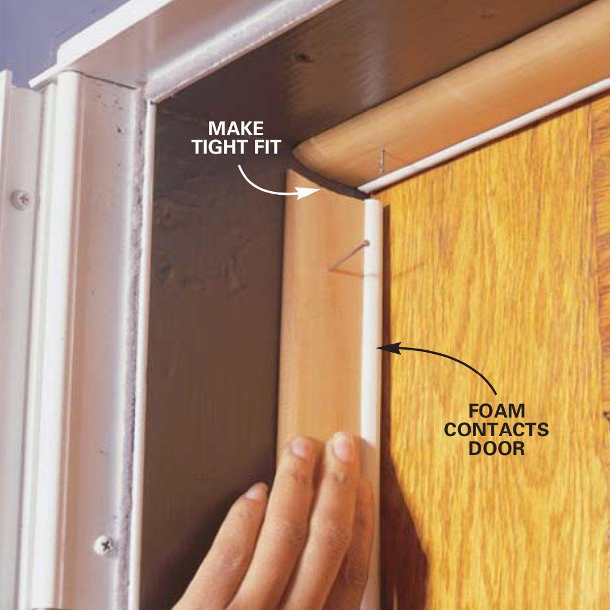 Installing Weather Stripping & Door Sweeps in 2020 Door