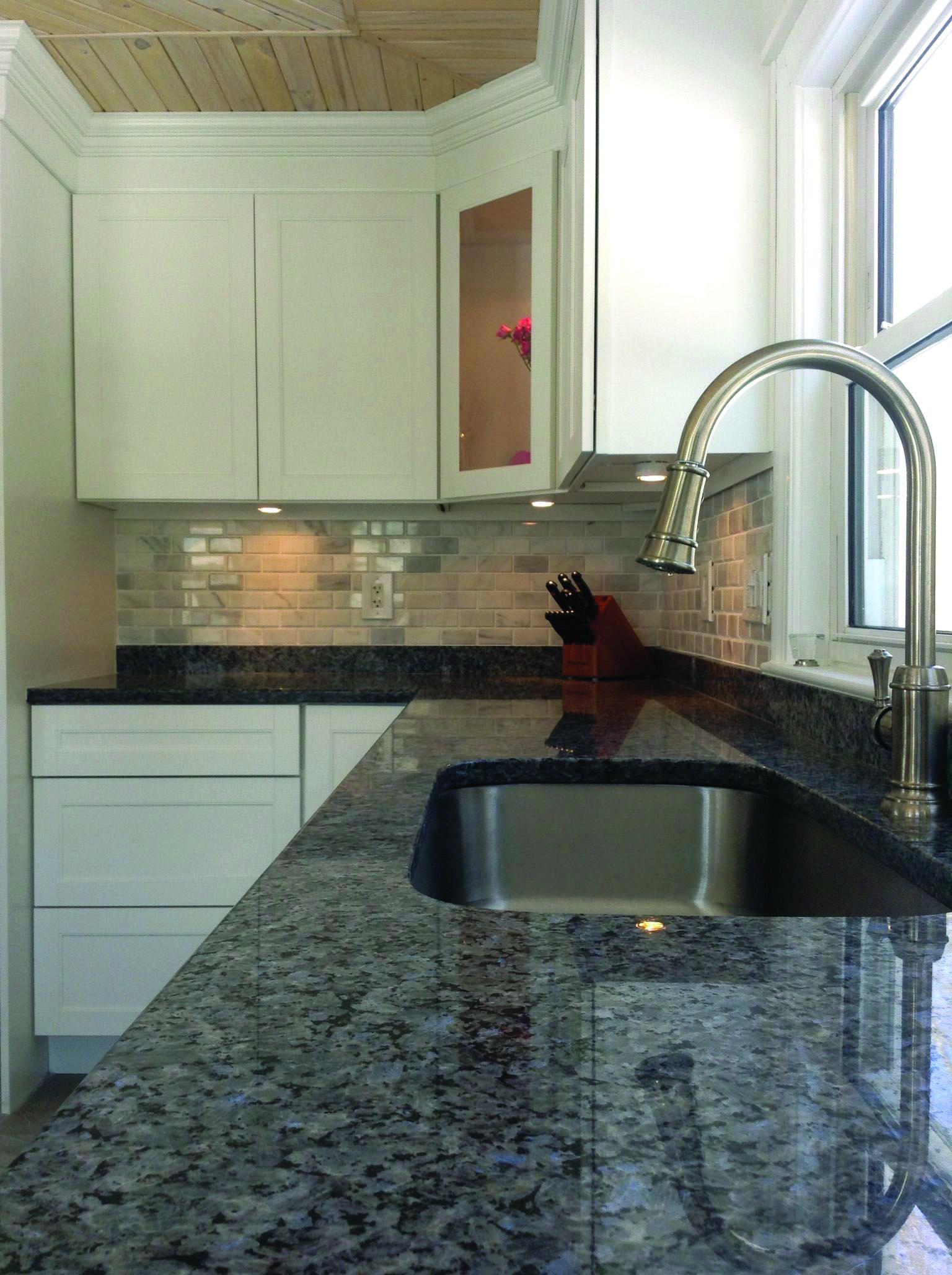 Black Pearl Marble Granite Countertops Kitchen Blue Granite
