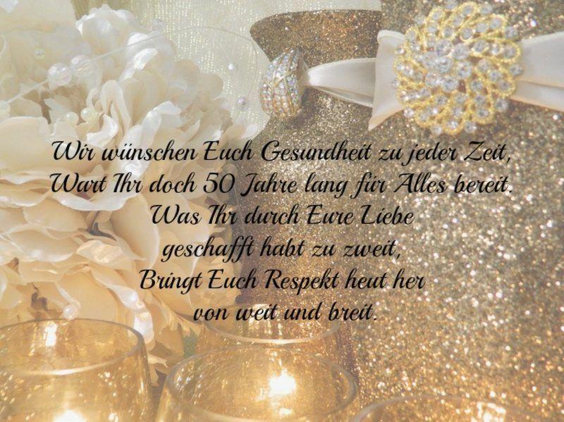 Glückwünsche Und Sprüche Für Die Goldene Hochzeit Der Eltern