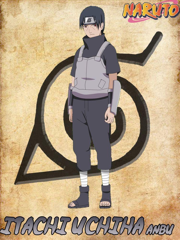 Naruto Itachi ANBU Imagenes de naruto, Personajes, Naruto