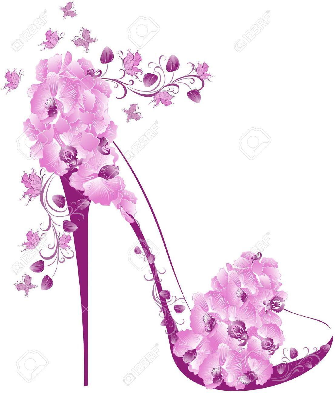Pink High Heel Shoes Clipart Images Art Pinterest Shoes Shoes