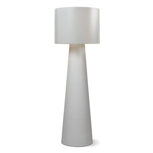 Cordless Floor Lamp: INDA Concrete Cordless Outdoor Floor Lamp Warm LED 55
