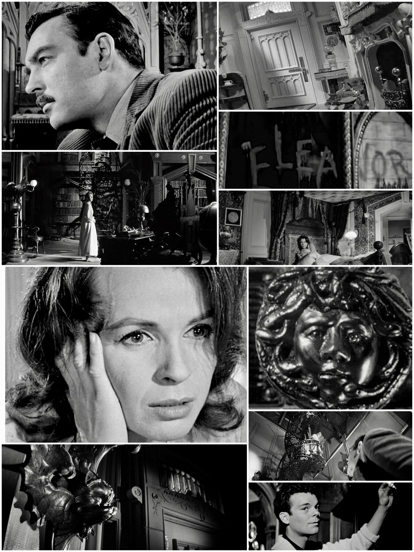 Julie Harris As Eleanor Nell Lance Claire Bloom As Theodora Theo Richard Johnson As Dr John Markway Russ Tam Haunted House Film Robert Wise Claire Bloom
