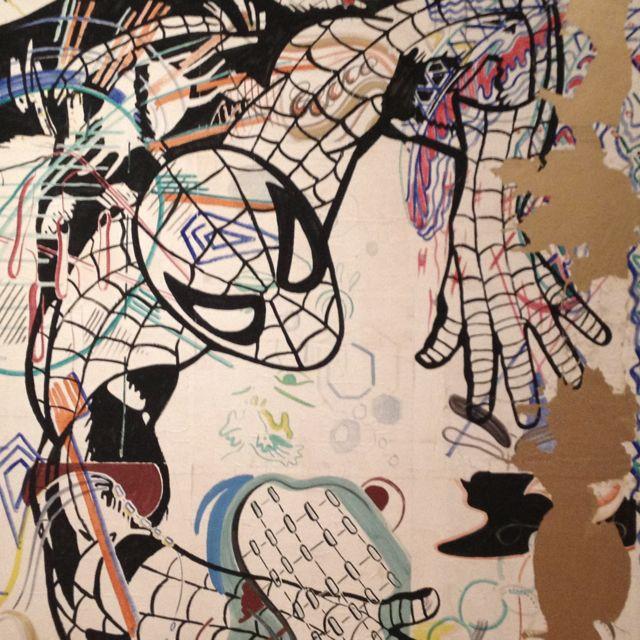 Spiderman at MOMA NYC