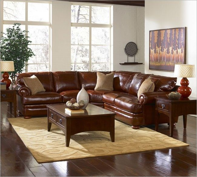 Klaussner Montezuma FULL Top Grain Leather Sectional available in over 50 Leather Colors. Available configurations are Sofa/Wedge/Sofa Sofa/Wedge/Love in ... : klaussner sectional sofa - Sectionals, Sofas & Couches
