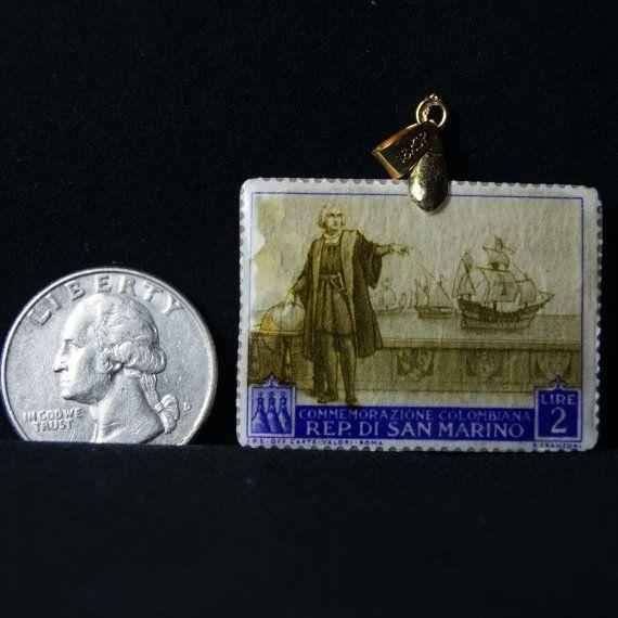 Vintage 1952 Rep Di San Marino Commemorazione by JewelReMotion, $11.99
