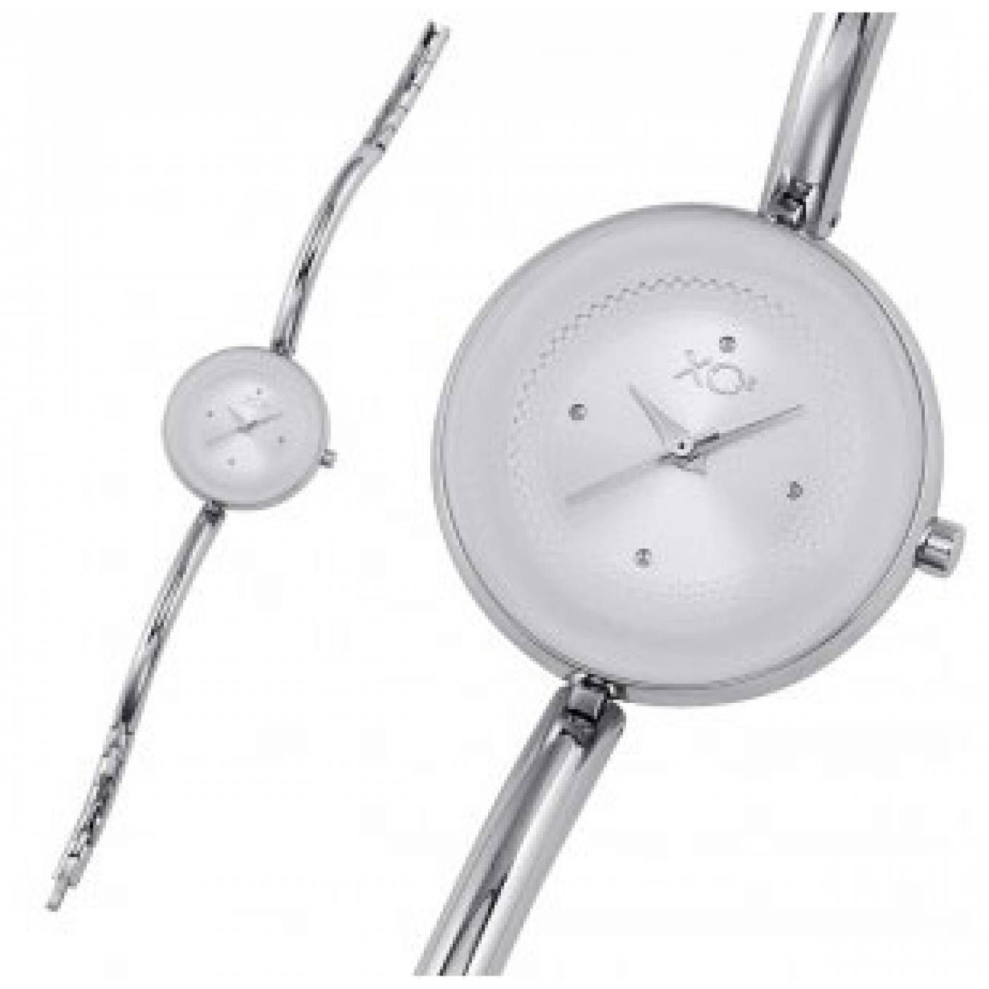 Ladies stainless steel TOUNDRA white watches - Xc38